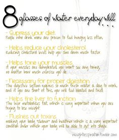 Some facts about water