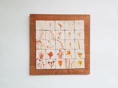 Tablou cu motive vegetale #14 | Corina Marina Ceramics