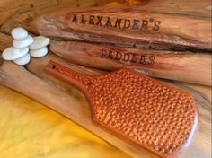 Lacewood Golfball www.alexanderspaddles.com
