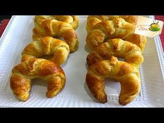 Receta de pasta danesa masa para roles, croissant, napolitanas y mas - YouTube