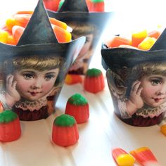 Make Halloween Candy Cups - The Graphics Fairy