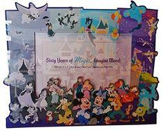 Disneyland 60th Anniversary Diamond Celebration Through The Years Frame