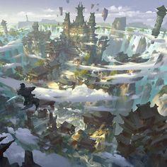 House of flying daggers, G liulian on ArtStation at https://www.artstation.com/artwork/gxz5x
