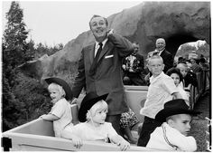 Walt Disney with his grandchildren?