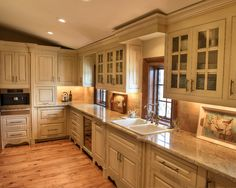 Spaces +french +chateau +light +kitchen Design, Pictures, Remodel, Decor and Ideas - page 2