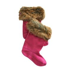 Make pulling on your wellies an altogether more luxurious experience with these gorgeous Joulesfur welly socks. Made from 100% Polyester they are machine washa