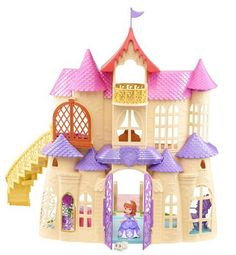 New Sofia the First toy line coming soon! Sofia the First Magical Talking Castle  play set