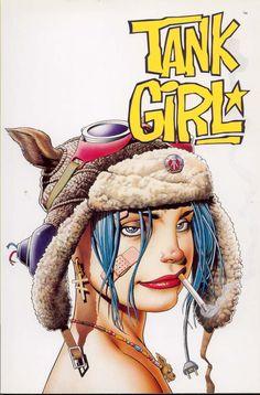 Tank Girl, la proscrita : Revista Reves