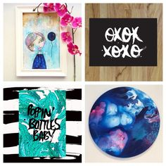 Olivia's Fab Four Insta-Finds - The Interiors Addict Be A Nice Human, Mixed Media Art, The Past, Gallery Wall, About Me Blog, Interiors, Artists, My Favorite Things, Artwork