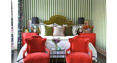 6 Red & Green Rooms that Look Good All Year   Summer Thornton
