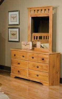 Fresh Dresser with Cabinet and Drawers