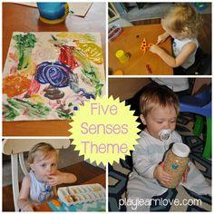 five senses preschool theme | play learn love
