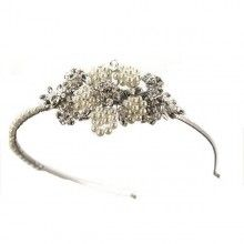 Baxter by Ellie kay from The Wedding Boutique, 22 the square ,Dalston CA5 7PY.  On the web site you can zoom in to see this tiara in more detail. £95