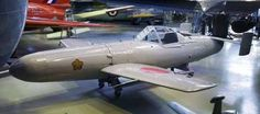 """Yokosuka MXY-7 Ohka (cherry blossom), 1944. It was a purpose-built, rocket powered human-guided anti-shipping kamikaze attack plane employed by Japan towards the end of World War II. United States sailors gave the aircraft the nickname Baka (Japanese for """"fool"""" or """"idiot"""")"""