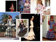 yo elijo coser: Patrones gratis: vestidos de flamenca (varios modelos)