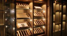 Armoire à cigares sur mesure en chêne - Degré 12