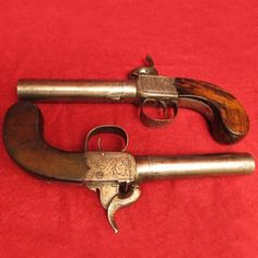 English Pistols, Pair of Durs Egg Boxlock Pistols. Find this and other arms and armor at CuratorsEye.com.