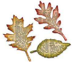 tim holtz leaf die