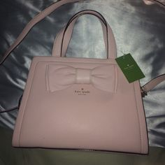 Kate Spade NWT Pink Bow DOMINIQUE purse Pink purse with Bow!   CUTE kate spade Bags Satchels