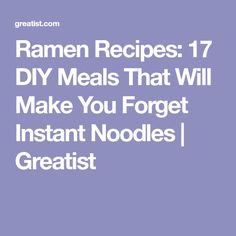 17 DIY Ramen Recipes That'll Make You Forget About Instant Noodles Ramen Noodle Soup, Ramen Noodle Recipes, Ramen Noodles, Healthy Ramen, Healthy Soups, Super Easy Dinner, Veggie Stock, Slow Cooker Pork, Soup And Sandwich