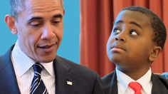 Kid President meets the President of the United States of America