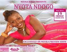 Kenyan legendary singer Nyota Ndogo from Mombasa is finally set to release her SUBIRA YANGU video. The singer who recently tied the told has since gotten her house in order and is back into the game with a bang. Listen to Nyota Ndogo speak about her new video charity works her trending gossip and much more on Mzuka Preview Show with Wandiga and Milky. LISTEN | Mzuka Preview Show - Nyota Ndogo