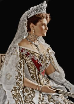 H.I.M. Empress Alexandra Feodorovna of All The Russias, née Princess of Hesse (1872-1918)