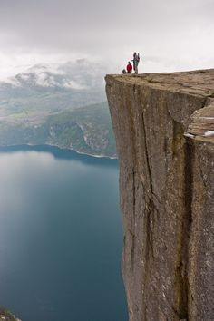 Cliffs near Stavanger - Norway