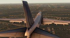 Vista da cauda de um 747 prestes a aterrar... Fotoblog: As Melhores Fotos da Internet