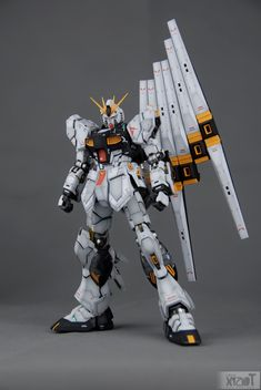 MG 1/100 Nu Gundam Ver Ka. - Painted Build Modeled by 359956669 GG INFINITE: ORDER HERE CLICK HERE TO VIEW FULL POST...