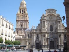 """Murcia Cathedral © Robert Bovington from the blog post: """"Murcia Cathedral"""" - http://bobbovington.blogspot.com.es/2013/12/if-there-were-but-one-reason-to-visit.html #Murcia #Cathedral #Robert_Bovington @Bradi Ross Ross Ross Ross Spain"""