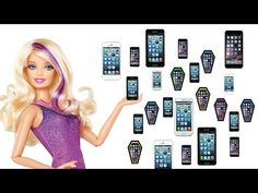 How to make doll cell phones - Doll crafts - YouTube