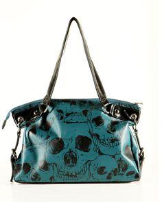 Rock n roll/punk rock/skull bag purse @Baylie Wright