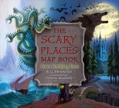 The Scary Places Map Book (Mentor text for Narrative, Making Connections, Map skills, Setting, Characterization)