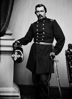 Brig. Gen. Włodzimierz Krzyżanowski (1824-1887). A Polish 48er; he raised the 58th New York Infantry Regiment. In 1862 he was made a Brigadier but the Senate messed up the promotion two times and later he was brevetted as such, too. He commanded a brigade in the XI Corps and later others in the west. After the war he became a civil servant.