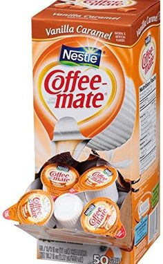 Nestle Coffee Mate Liquid Creamer Singles Vanilla Caramel Oz Box Of Each Is Individually Packaged And Contains 038 Fl No Need For Refrigeration