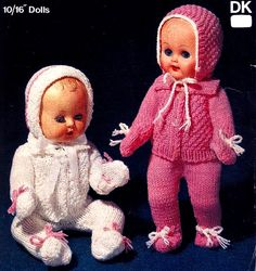 2fb617d0418d 19 Best Baby doll patterns to knit or sew images in 2019