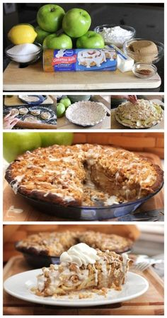 Cinnamon Roll Dutch Apple Pie Recipe
