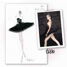 Black Swan costume designs