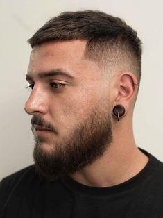 Taper Fade Haircut, Tapered Haircut, Taper Fade Short Hair, Mens Short Fade Haircut, Short Cut Hair, Military Fade Haircut, Mens Taper Fade, Very Short Hair Men, Men Hairstyle Short