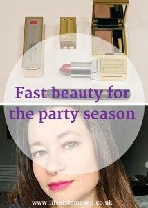 Fast beauty for the party season