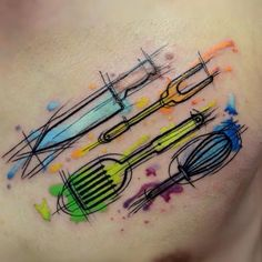 16 Cook Tattoos To Be The Chef In Your Kitchen | Tattoodo