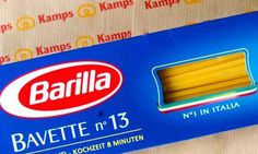 Gay Activists Call for Boycott of Major Pasta Company After Chairman Claims He'd Never Feature a Same-Sex Family in Ads / Make sure to put Barilla pasta on your shopping list!