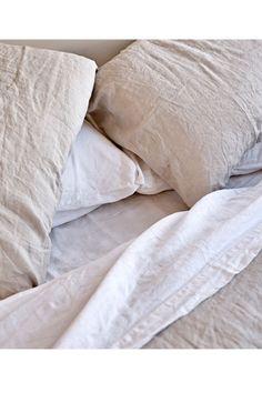 IN BED | Linen Sheet Set - White | My Chameleon