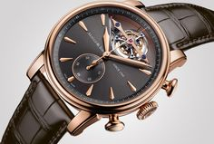 Arnold & Son Royal TEC1 tourbillon chronograph unveiled ahead of the watchmakers 250th anniversary celebrations