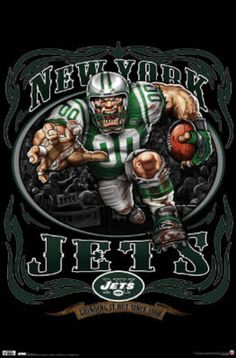 New York Jets (Mascot, Grinding It Out Since 1960)