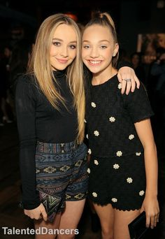 Actress/recording artist Sabrina Carpenter (L) and TV personality Maddie Ziegler attend the NYLON Young Hollywood Party presented by BCBGeneration at HYDE Sunset: Kitchen + Cocktails on May 2015 in West Hollywood, California. Maddie Ziegler, Mackenzie Ziegler, Sia And Maddie, Maddie And Mackenzie, Nylons, Hollywood Party, West Hollywood, Sabrina Carpenter Style, Divas