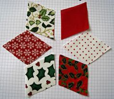 Rosmademe: Christmas Tutorials Start Here - Chris's Patchwork with Christmas Decorations Quilting 41083 Quilted Christmas Ornaments, Christmas Fun, Christmas Countdown, Christmas Skirt, Christmas Placemats, Christmas Pillow, Christmas Sewing Projects, Holiday Crafts, Patchwork Quilting
