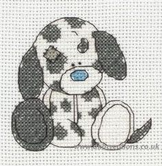 Tatty Teddy My Blue Nose Friends Splodge Cross Stitch Kit