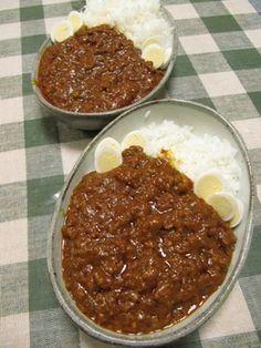トマトたっぷり♪ひき肉トマトカレー Japanese Curry, Japanese Food, Japanese Side Dish, How To Cook Rice, Easy Cooking, Cooking Rice, I Want To Eat, Rice Dishes, Desert Recipes